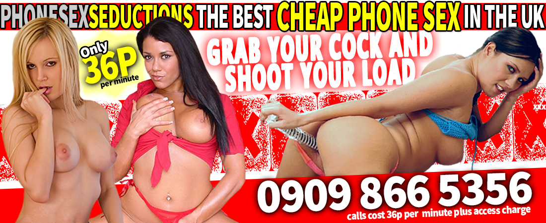 PhoneSexSeductions - The best cheap phone sex in the UK